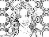 Britney Spears Colorir Desenhar Coloring Pintar Promote Quote sketch template