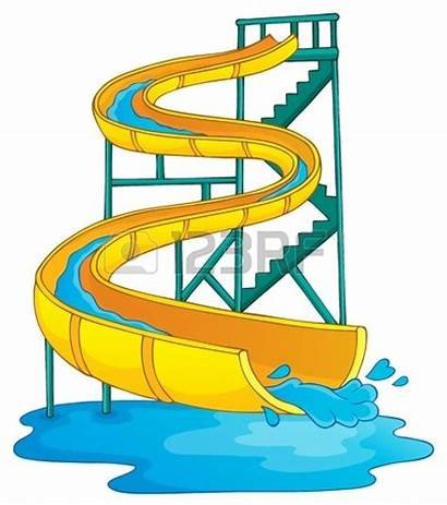 Slide Clipart Water Inflatable Panda Clip Park