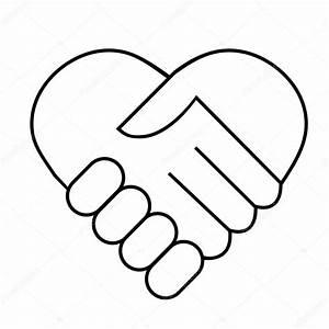 Hand shake — Stock Vector © PiXXart #7280000