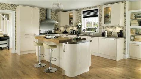 Glendevon Gloss Ivory Contemporary Kitchen  Youtube