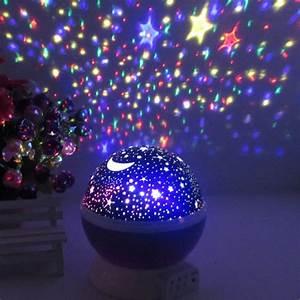 Stars, Starry, Sky, Led, Night, Light, Projector, Luminaria, Moon, Novelty, Table, Night, Lamp, Battery, Usb