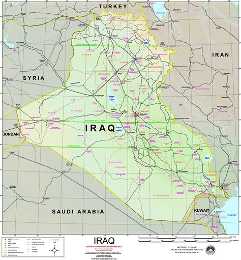 iraq maps perry castaneda map collection ut library