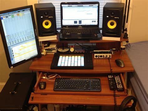 Studio Rta Computer Desk by Ableton Forum View Topic Dual Computer Monitor Idea
