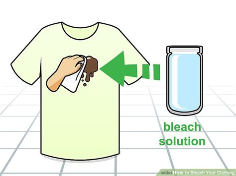 4 Easy Ways To Bleach Your Clothing (with Pictures
