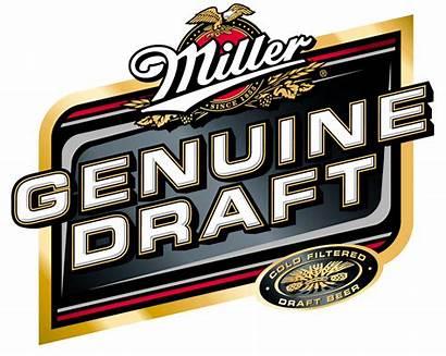Miller Beer Draft Genuine Mgd Packaging Logos