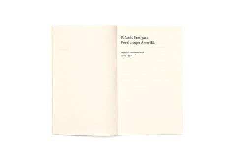 TALKA — Ričards Brotigans Foreļu cope Amerikā