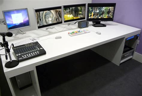 Woodwork Custom Computer Desk Plans Pdf Plans