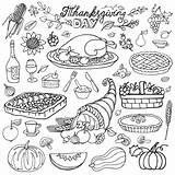 Thanksgiving Coloring Turkey Cornucopia Pages Adults Icons Harvest Drawing Adult Doodle Tatiana Cakes Appetite Cooking Events Dinner Cliparts Pumpkin Justcolor sketch template