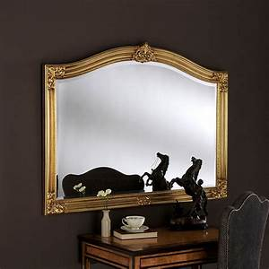 Gold, Over, Mantle, Mirror