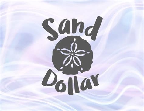 How to convert a svg file. Sand Dollar SVG Beach Clipart Summer Ocean Animal Trending ...