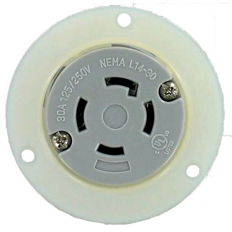 nema    amp   pole  wire flanged outlet culus  fo culus ebay