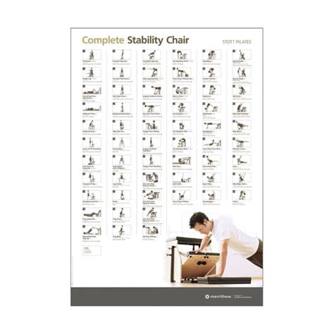 wall chart complete stability chair merrithew