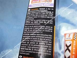 Pâte Efface Rayures : efface rayure quixx scratch remover pour peinture moto ~ Premium-room.com Idées de Décoration