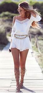 57 Pretty Casual Summer Outfits for Women - BiteCloth.com