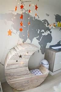 Babyzimmer Einrichten Ideen : babyzimmer gestalten babywiege anleitung und 40 tolle ~ Michelbontemps.com Haus und Dekorationen