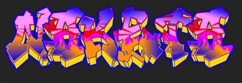 Graffiti Text : Create A Graffiti Text With Your