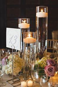 centerpieces with candles Fabulous Floating Candle Ideas for Weddings | Wedding Flowers and Decor Ideas | Candle wedding ...