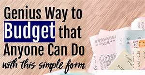 Simple Budgeting App Zero Based Budgeting Forms Make Budgeting So Much Easier