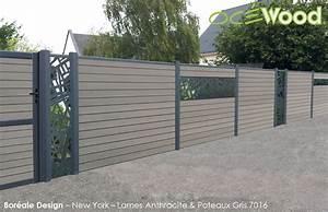 Cloture De Jardin : emejing cloture jardin opaque ideas design trends 2017 ~ Premium-room.com Idées de Décoration