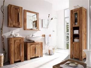 Meuble Bois Exotique : meuble sous vasque bois exotique great meuble de salle de ~ Premium-room.com Idées de Décoration