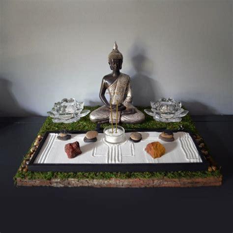 diy  jardin zen miniature pour decorer la piece