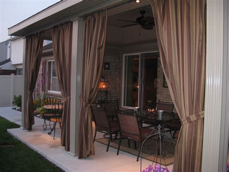 Custom Outdoor Drapes