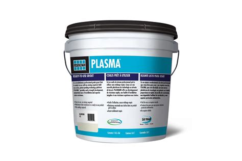 laticrete plasma grout resists mildew  color change