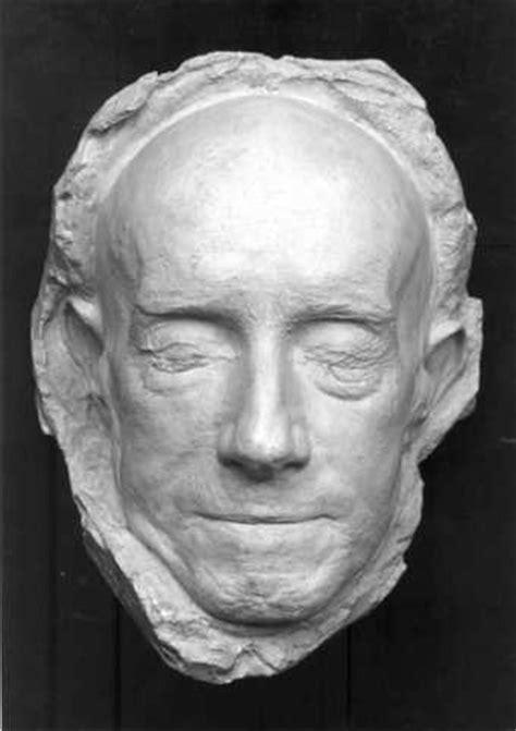 kunstwerk dodenmasker van de schilder  oleffe
