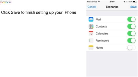 Office 365 Mail Iphone Settings by How To Set Up Office 365 Email On An Iphone