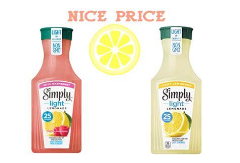 target simply lemonade