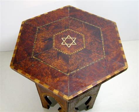 antiquites chaumont table basse maroc essaouira marqueterie