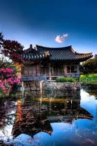 South Korea Traditional Building