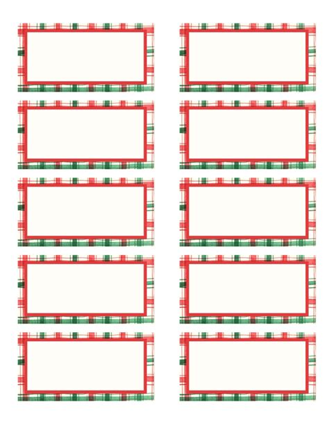 christmas label template avery  festival collections