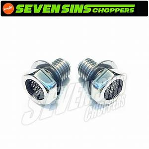 Harley Evo Sportster Stainless Breather Bolts Set Engine
