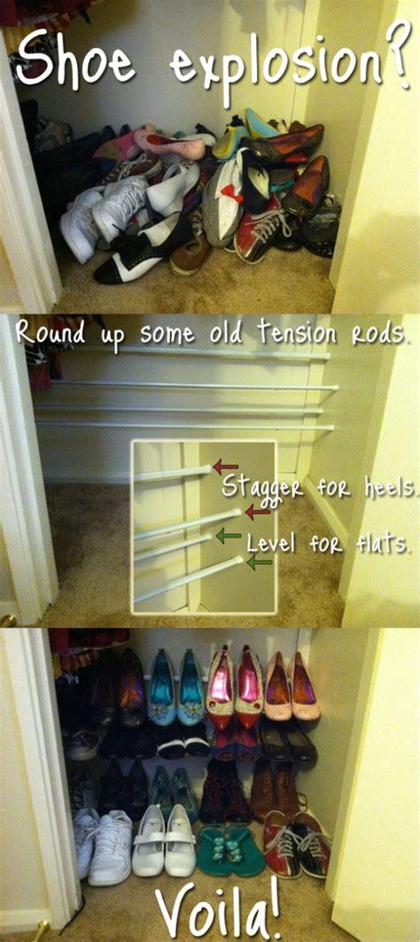diy shoe storage solutions  put