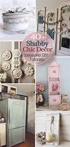 40, Shabby, Chic, Decor, Ideas, And, Diy, Tutorials, 2017