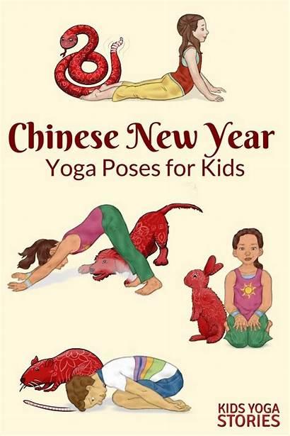Chinese Yoga Poses Activities Books Zodiac Stories