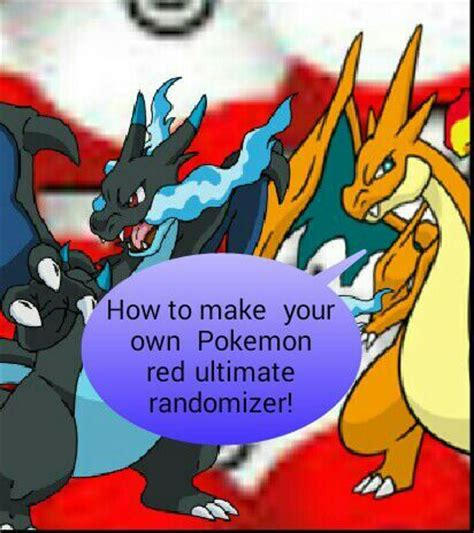 How To Make Your Own Pokemon Red Ultimate Randomizer On