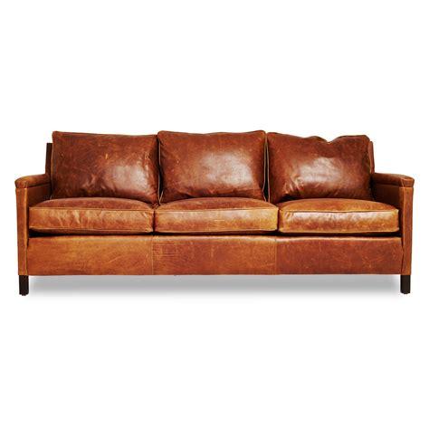 design ledersofas irving place heston leather sofa