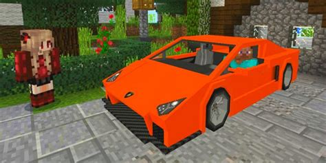 Sport Car Mod Lamborghini For Minecraft For Android