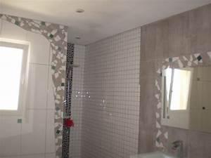 mosaique la salle de bain mosaiques artisanales With mosaique murale salle de bain