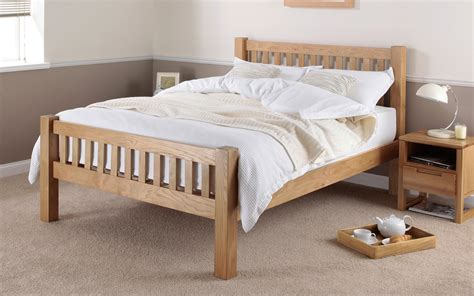 buy cheap double wooden bed frame compare beds prices