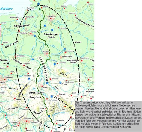 nord nach sued hier koennte deutschlands mega trasse