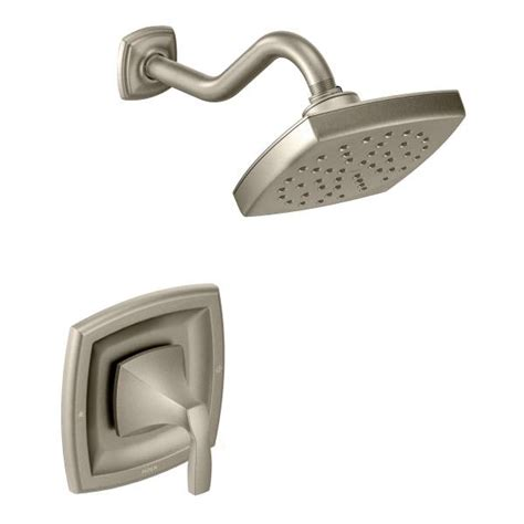 moen voss faucet brushed nickel t3692bn moen voss series single handle brushed nickel