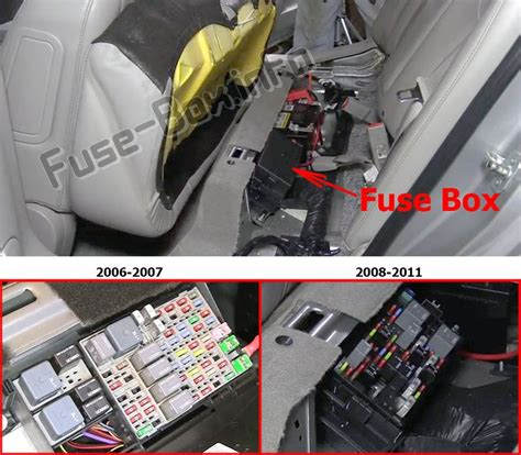 Buick Lucerne Fuse Box by Buick Lucerne 2006 2011