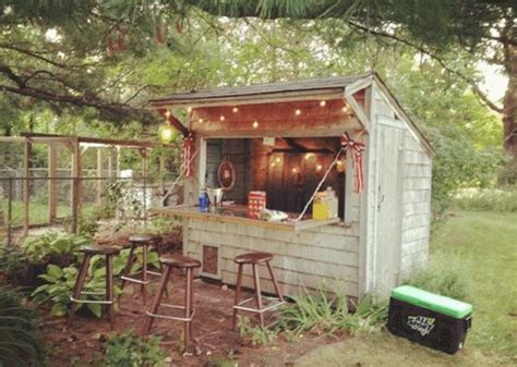 primitive kitchen furniture forget caves backyard bar sheds are the trend