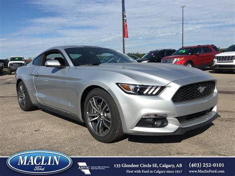 New 2017 Ford Mustang Ecoboost Premium Fastback In Calgary