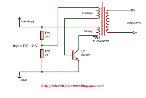 Low Cost Flyback Transformer Driver Circuit Build