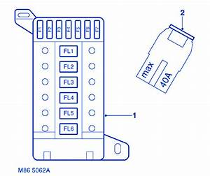 Land Rover Defender 110 2009 Fuse Box  Block Circuit Breaker Diagram