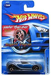 Sold by ohio hot wheels and ships from amazon fulfillment. Amazon.com: Hot Wheels 2006-144 Bugatti Veyron Blue/Silver FTE Faster Than Ever 1:64 Scale GOLD ...